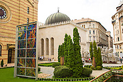 Eastern Europe, Hungary, Budapest, Dohany Street Synagogue
