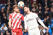 012419 Real Madrid vs Girona FC Copa del Rey, Quarter Final