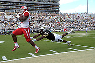 during the first half of an NCAA college football game in Orlando <br />       , Fla., Saturday, Oct. 24, 2015. (Photo/Phelan M. Ebenhack)