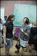 VICTORIA SIDDALL; ALICE RAWSTHORN; , Drinks party to launch this year's Frieze Masters.Hosted by Charles Saumarez Smith and Victoria Siddall<br />  Academicians' room - The Keepers House. Royal Academy. Piccadilly. London. 3 July 2014