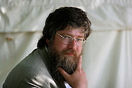 Children's author Philip Ardagh is pictured at the Edinburgh International Book Festival prior to talking about his Eddie Dickens characters. The Edinburgh International Book Festival is the world's largest literary event, with over 500 authors from across the world participating each year and ran from 13-29 August. Edinburgh was named the world's first UNESCO City of Literature in 2004.