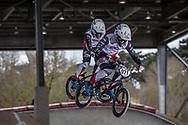 #921 (HARMSEN Joris) NED at the 2018 UCI BMX Superscross World Cup in Saint-Quentin-En-Yvelines, France.