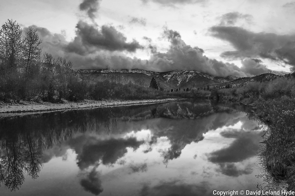 Indian Creek, Genesee Valley At Heart K Ranch, Sierra Nevada Mountains, California Mountains, Black and White Art, Black and White Photography