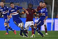 Eder, Roberto Soriano Sampdoria, Gervinho Roma <br /> Roma 16-03-2015 Stadio Olimpico Football Calcio Serie A 2014/2015 AS Roma - Sampdoria . Foto Andrea Staccioli / Insidefoto
