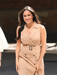 The Duchess of Sussex attends a roundtable discussion with the Association of Commonwealth Universities ACU to discuss the challenges of women accessing Higher Education, the University of Johannesburg, South Africa. Photo credit should read: Doug Peters/EMPICS