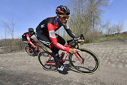 April 6, 2018 - France - DRUCKER Jean-Pierre  (LUX)  of BMC Racing Team in action (Credit Image: © Panoramic via ZUMA Press)