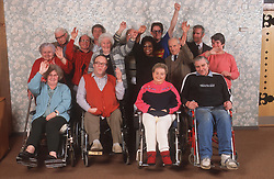 Group of people with learning difficulties,