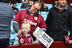 March 16, 2019 - Birmingham, England, United Kingdom - Aston Villa supporters during the Sky Bet Championship match between Aston Villa and Middlesbrough at Villa Park, Birmingham on Saturday 16th March 2019. (Credit Image: © Mi News/NurPhoto via ZUMA Press)