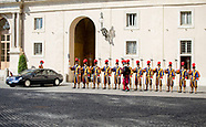 State Visit of King WIllem-Alexander and Queen Maxima to The Vatican, 22-06-2017