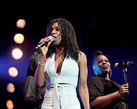Heather Small at the Isle Of Wight Festival photo by Dawn Fletcher-Park