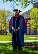 Harvey J. Sindima, Professor of Philosophy and Religion and the 2020 recipient of the Jerome Balmuth Award, photographed May 20, 2020 at Colgate University in Hamilton, N.Y.