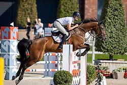 Vos Thijmen, NED, Calgary 56<br /> Nederlands Kampioenschap Springen<br /> De Peelbergen - Kronenberg 2020<br /> © Hippo Foto - Dirk Caremans<br />  06/08/2020