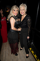 Sam Fox, Denise Welch at  the Rainbow Honours Awards, at Madame Tussauds, London. 04.12.19