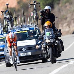 24-09-2014: Wielrennen: WK tijdrijden Elite mannen: Ponferrada<br /> WIELRENNEN PONFERRADA SPAIN TIME TRAIL MEN<br /> Tom Dumoulin