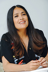 """Salma Hayek at the Hollywood Foreign Press Association press conference for """"Beatriz at Dinner"""" held in Los Angeles, CA on June 14, 2017.  (Photo by: Yoram Kahana/Shooting Star) NO TABLOID PUBLICATIONS. NO USA SALES FOR UNTIL JULY 14, 2017. *** Please Use Credit from Credit Field ***"""