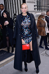 Petra Nemcova attending the Elie Saab show as part of Paris Haute Couture Fashion Week Spring/Summer 2018-2019 on January 24, 2018 in Paris, France. Photo by Aurore Marechal/ABACAPRESS.COM