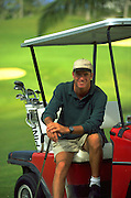 Golfing, Hawaii, USA<br />