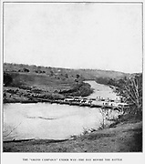 Pontoon-Bridges at Germanna Ford, on the Rapidan. Here the Sixth Corps under Sedgwick and Warren s Fifth Corps began crossing on the morning of May 4, 1864. The Second Corps, under Hancock, crossed at Ely s Ford, farther to the east. The cavalry, under Sheridan, was in advance. from the book ' The Civil war through the camera ' hundreds of vivid photographs actually taken in Civil war times, sixteen reproductions in color of famous war paintings. The new text history by Henry W. Elson. A. complete illustrated history of the Civil war