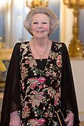 Officieel bezoek Jordanie aan Nederland - Dag 1<br /> <br /> Officiele foto voorafgaand aan het staatsdiner <br /> <br /> Official visit Jordan to the Netherlands - Day 1<br /> <br /> Official photo prior to the state dinner<br /> <br /> Op de foto / On the photo: prinses Beatrix