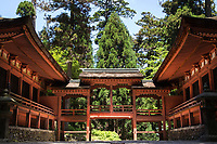 22. Enryaku-ji 延暦寺 is located on Mount Hiei hovering over Kyoto.  It is the head-quarters of the Tendai sect of Buddhism.  Founded during the early Heian period, it was once one of the largest monasteries in the world.  At its peak, Enryakuji had as many as 3000 sub-temples in its domain and a powerful army of warrior monks who engaged in power struggles with other monasteries and political leaders that eventually brought about its demise of power.  Enryaku-ji is imbued with a solemn atmosphere as a place of training and as the home of the 'marathon monks'.
