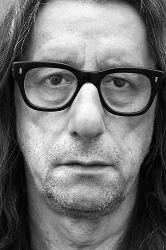 Nederland, Nijmegen, 15-7-2017Auteur, schrijver Herman Brusselmans, woont in Gent, BelgieFoto: Flip Franssen