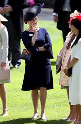 Sarah Ferguson, Duchess of York during day four of Royal Ascot at Ascot Racecourse.