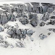 An icefall of Taschachferner glacier is seen near the village of St. Leonhard im Pitztal, Austria, July 6, 2019. REUTERS/Lisi Niesner