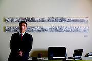 Belo Horizonte_MG, Brasil...Retrato do Prefeito de Belo Horizonte, Farnando Damata Pimentel, do PT, em seu gabinete na prefeitura...The portrait of the Mayor Fernando Pimentel (PT), in the office at  city hall...Foto: LEO DRUMOND / NITRO