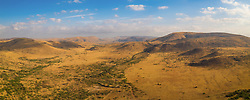 April 17, 2020: Panoramic aerial view of Pilanesberg Mountain in South Africa (Credit Image: © Amazing Aerial via ZUMA Wire)