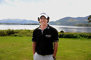 Rory McIlroy pictured beside Lough Lein at the Irish Open in Killarney 2010..Picture by Don MacMonagle