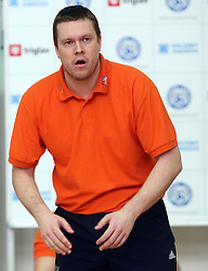 Coach of ACH Volley Radovan Gacic at 4th and final match of Slovenian Voleyball  Championship  between OK Salonit Anhovo (Kanal) and ACH Volley (from Bled), on April 23, 2008, in Kanal, Slovenia. The match was won by ACH Volley (3:1) and it became Slovenian Championship Winner. (Photo by Vid Ponikvar / Sportal Images)/ Sportida)