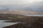 Applecross on the 4th November 2018 on the Applecross Peninsula on the west coast of Scotland in the United Kingdom.