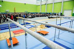 Grand Opening of new Ljubljana Gymnastics centre Cerar-Pegan-Petkovsek, on November 26, 2015 in Ljubljana, Slovenia. Photo by Vid Ponikvar / Sportida