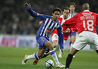 """PORTUGAL - PORTO 28 FEBRUARY 2005: IBSON Barreto da Silva #31, in the 23 leg of the Portuguese soccer league """"Super Liga"""" FC Porto (1) vs SL Benfica (1), held in """"Dragao"""" stadium  28/02/2005  21:03:36<br />(PHOTO BY: NUNO ALEGRIA/AFCD)<br /><br />PORTUGAL OUT, PARTNER COUNTRY ONLY, ARCHIVE OUT, EDITORIAL USE ONLY, CREDIT LINE IS MANDATORY AFCD-PHOTO AGENCY 2004 © ALL RIGHTS RESERVED"""