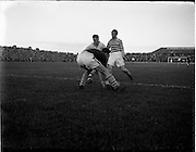 27/08/1952.08/27/1952.27 August 1952.Soccer, City Cup Semi-Final Shamrock Rovers v Dundalk F.C. at Dalymount Park.