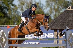 Gaublomme Arnaud, BEL, Irina de Sarlar Z<br /> Belgisch Kampioenschap Jeugd Azelhof - Lier 2020<br /> © Hippo Foto - Dirk Caremans<br /> 30/07/2020
