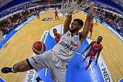 Thompson Darius<br /> Happy Casa Brindisi - Oriora Pistoia<br /> Legabasket SerieA 2019-2020<br /> Brindisi, 24/11/2019<br /> Foto  Ciamillo-Castoria / Michele Longo