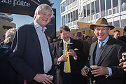 THE MARQUESS OF WORCESTER; Charles Gordon-Watson, Cheltenham races,  Ladies Day, Wednesday 15 March 2017