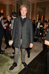 SAM HOARE at the IWC Schaffhausen hosted Private Screening of The Lobster In Celebration Of The BFI - before the screening a drinks reception was held at The Langham Hotel, London on 15th October 2015.