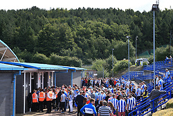 20th August 2017 - Premier League - Huddersfield Town v Newcastle United - Fans queue for entry into the stadium - Photo: Simon Stacpoole / Offside.