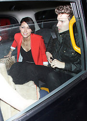 © Licensed to London News Pictures. 19/02/2014, UK. Emma Willis & Greg James, The BRIT Awards 2014 - Warner Music After Party, The Savoy, London UK. Photo credit : Brett D. Cove/Piqtured/LNP
