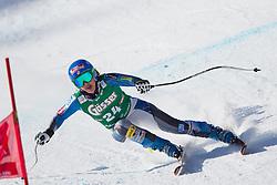 12.01.2013, Karl Schranz Abfahrt, St. Anton, AUT, FIS Weltcup Ski Alpin, Abfahrt, Damen im Bild Leanne Smith (USA) // Leanne Smith of the USA in action during ladies Downhill of the FIS Ski Alpine World Cup at the Karl Schranz course, St. Anton, Austria on 2013/01/12. EXPA Pictures © 2013, PhotoCredit: EXPA/ Johann Groder
