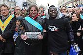 Charlie Hebdo Sunday demonstration Masons...