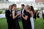 EDIE CAMPBELL; THE COUNTESS OF MARCH, The Goodwood Ball. In aid of Gt. Ormond St. hospital. Goodwood House. 27 July 2011. <br /> <br />  , -DO NOT ARCHIVE-© Copyright Photograph by Dafydd Jones. 248 Clapham Rd. London SW9 0PZ. Tel 0207 820 0771. www.dafjones.com.