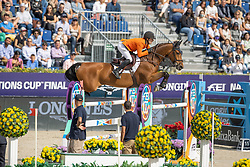 Van Der Vleuten Maikel, NED, Beauville Z<br /> Longines FEI Jumping Nations Cup Final<br /> Barcelona 2021<br /> © Dirk Caremans<br />  03/10/2021