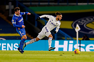 Leeds United forward Tyler Roberts (11) in action during the Premier League match between Leeds United and Brighton and Hove Albion at Elland Road, Leeds, England on 16 January 2021.