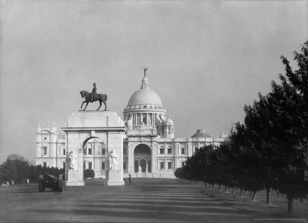 Victoria Memorial, Calcutta, India, 1929