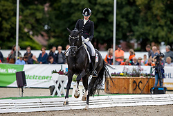 Pearce Simone, AUS, Dancier Gold<br /> World Championship Young Horses Verden 2021<br /> © Hippo Foto - Dirk Caremans<br /> 25/08/2021
