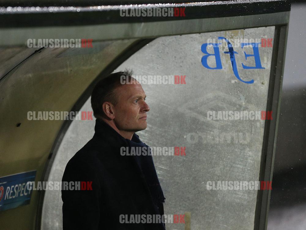 Cheftræner Niels Frederiksen (Esbjerg).