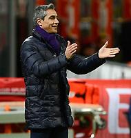 Paulo Sousa Fiorentina<br /> Milano 17-01-2016 Stadio Giuseppe Meazza - Football Calcio Serie A Milan - Fiorentina. Foto Giuseppe Celeste / Insidefoto